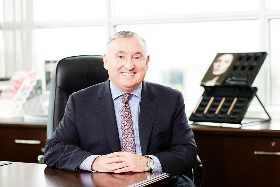 Portrait Photo of Tom Hendren in His Office