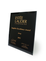 Estée Lauder Supplier Excellence Award