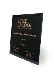 Estée Lauder Supplier Excellence Award