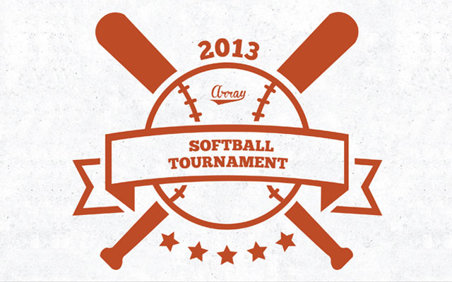 Logo for the Annual Softball Tournament
