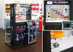 05 SOL Republic Kiosk Array Marketing