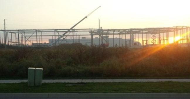 Array Bradford Expansion at Sunset