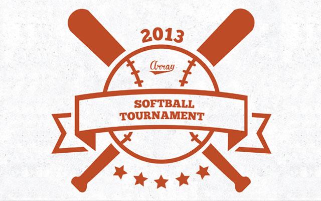 Logo for the Annual Softball Tournament